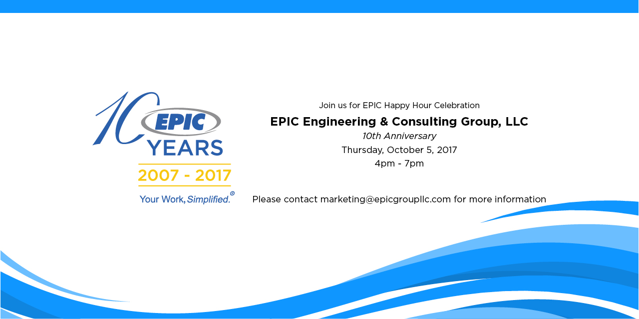 EPIC 10 Year Anniversary Celebration